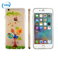 Newest Design 3d sublimation 360 degree protective mobile phone back cover case for iphone 6