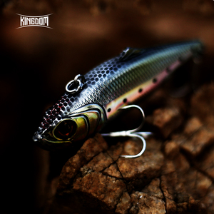 fishing lures sinking VIB 75mm 21.5g/27.2g,60mm 10.9g/14.3g hard bait of fishing tackle six colors available model 5504