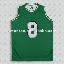 100% polyester plain basketball uniforms