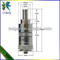 Unique refined quality,fashionable style SS DS/tvs caravela clone mod ecig Hcigar mech mod ithaka trident atomizer