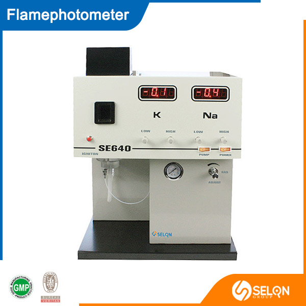 SELON SE-640 FLAMEPHOTOMETER, STABLE FLAME, EASY OPERATION, QUICK TESTING