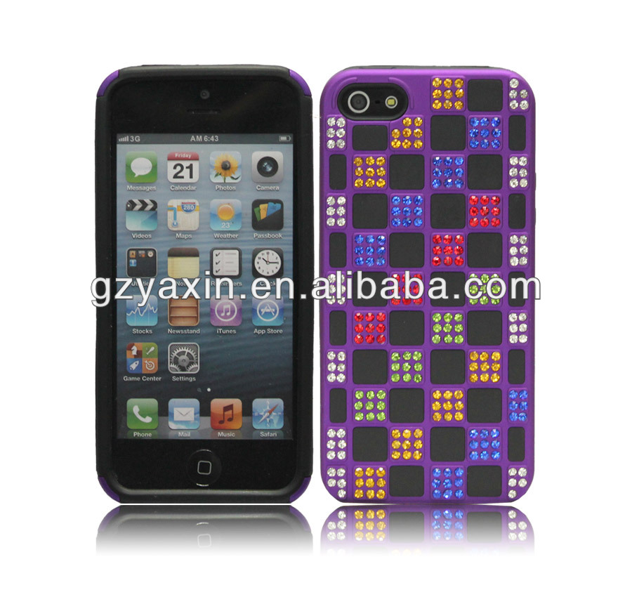 Jeweled Cell Phone Cases For Iphone 5,new phone case