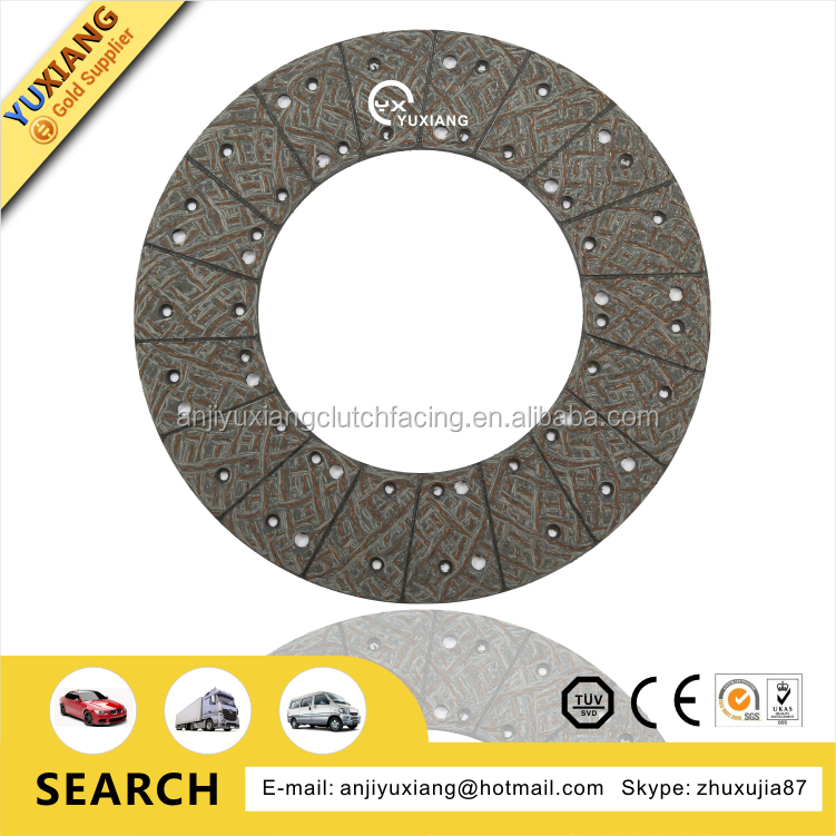 Friction Disc Material : Howo truck friction material clutch disc buy