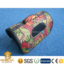 Foldable pet carrier, pet carrier bag, pet travel crate with fashion printing