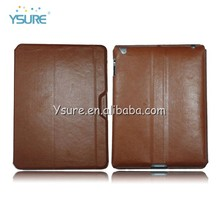 Factory wholesale newest ultra thin leather case for ipad air ipad 5