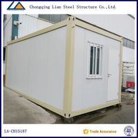movable 20ft container house for office