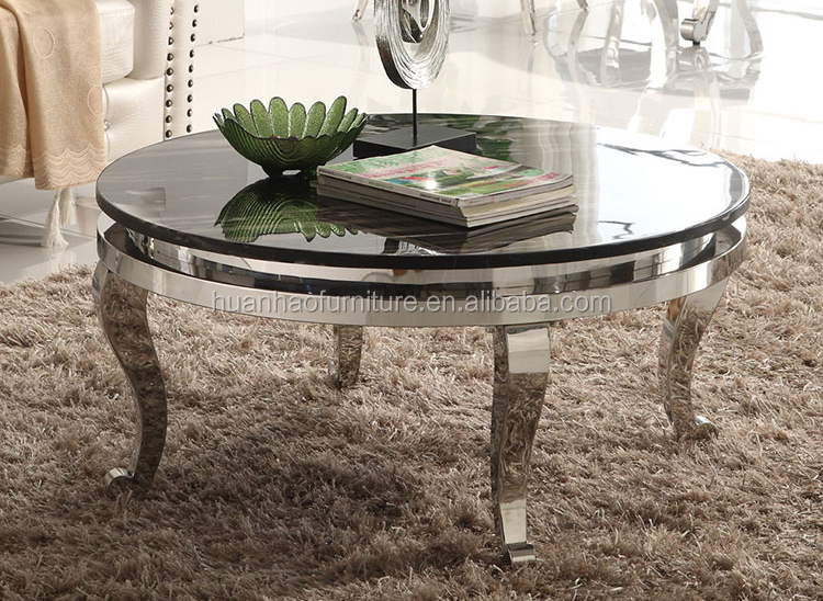Living room furniture Italian classic marble top coffee center Table for sale CT026