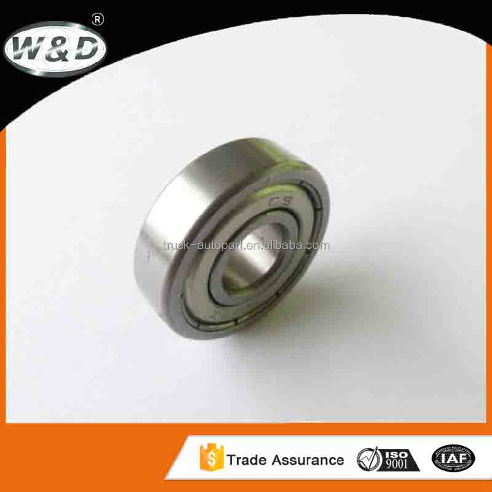 2015 miniature oem ball bearing 609 ZZ/2RS with size chart for sliding door