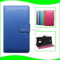 China Supplier Smart Phone Leather Stand Flip Case for Nokia X2, for Nokia X2 Full Housing