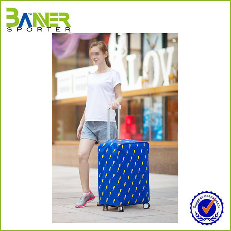 2016 newest waterproof protective travel luggage cover