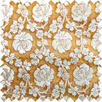 Indian Silk Georgette Brocade Fabric