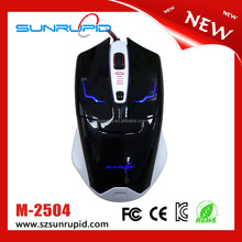 Fashionable 2.4G Optical Low Engergy Best OEM Razer Gaming Mouse For Laptop
