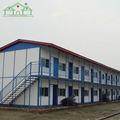 Low Cost Labor's apartment prefab steel structure house