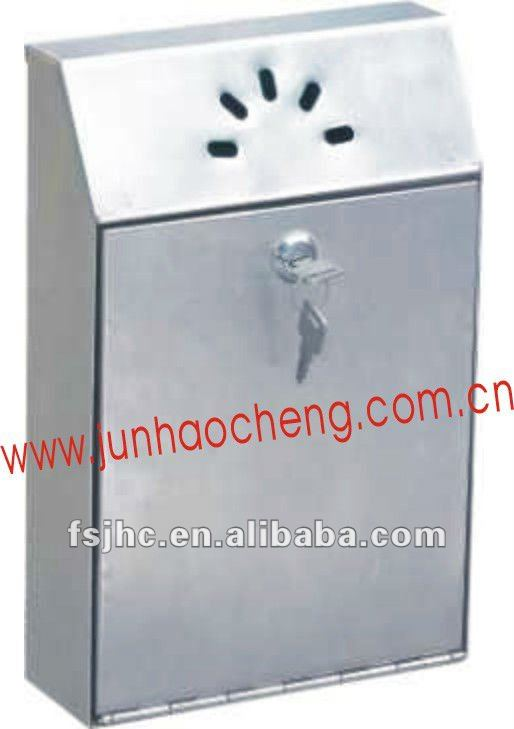 JHC-7007/7007S Unique Design Stainless Steel Wall Mounted Ashtray Bin