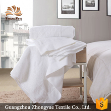 5 star hotel soft high quality cotton white towel