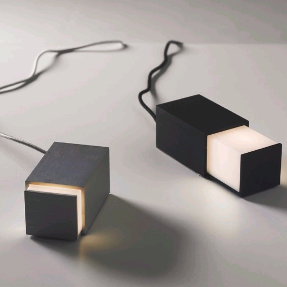 High end aluminum drawer box led reading desk lamp for High end client gifts