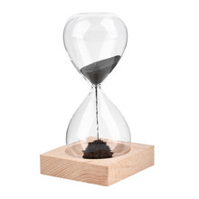 Hand-blown Timer clock Magnet Magnetic Hourglass sand clock hourglass timer Gift Home Decor
