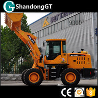 chinese construction machine snow blower small front end wheel loader