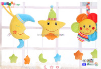 star.sun.moon shape hanging toys for 0+ babies
