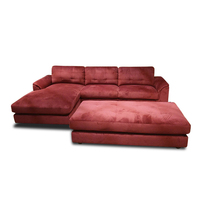 Drawing Room Sofa L Shape Set Design/Ottoman 96090