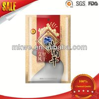 three sides seal sterile plastic bags for food