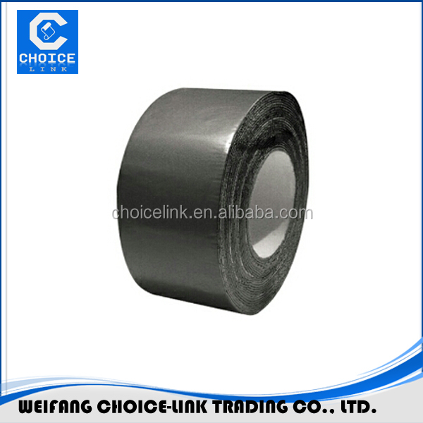 1mm*15.2cm*22.9M Self adhesive bitumen tape with grey HDPE <strong>membrane</strong>