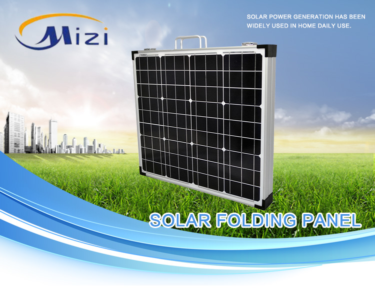 Poly/Mono folding solar panel 120W 150W high efficiency with good quality low price