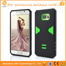 2 in 1 Silicone PC Robot Shockproof Phone Case Cover For Samsung Galaxy note 5