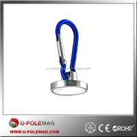 New Neodymium Powerful Ring Pot Magnet with Blue Hook