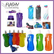 Wholesale BPA Free Foldable Water Bottle Collapsible Water Bottle Folding Water Bottle