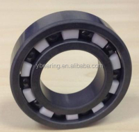 High precision low noise ceramic ball bearings
