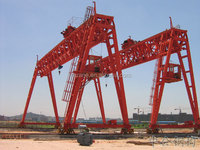 China supplier A shape gantry crane lifter with load hook
