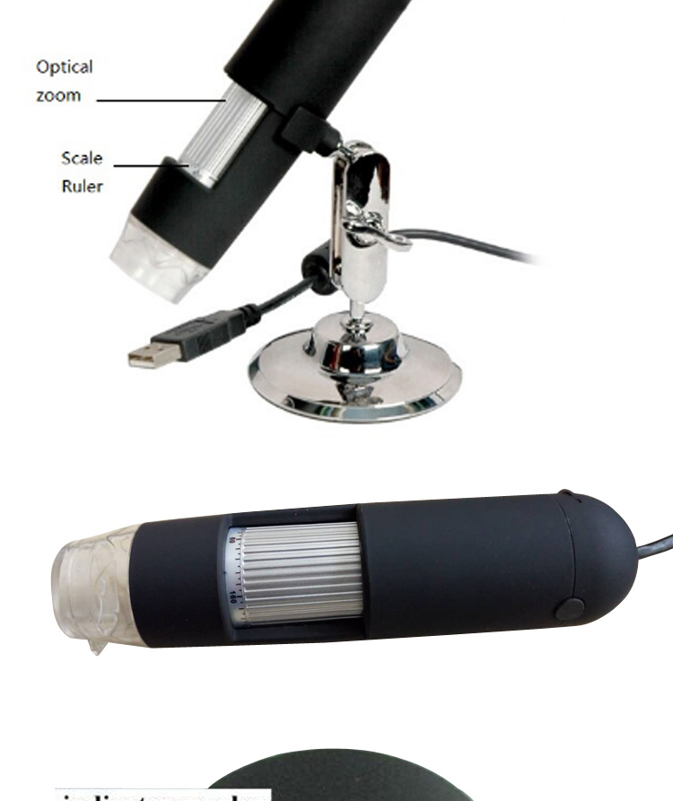 Hot Sale Portable 500x USB Digital Microscope Driver