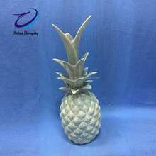 hot sale white ceramic pineapple christmas decorations