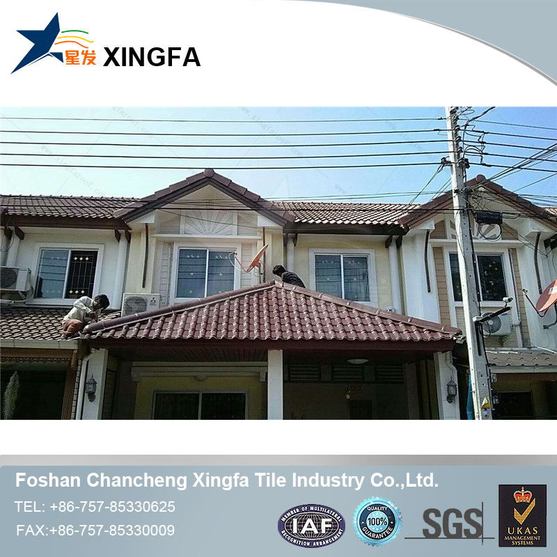 Xingfa plastic recycle color coated roofing sheet bamboo corrugated roofing sheets