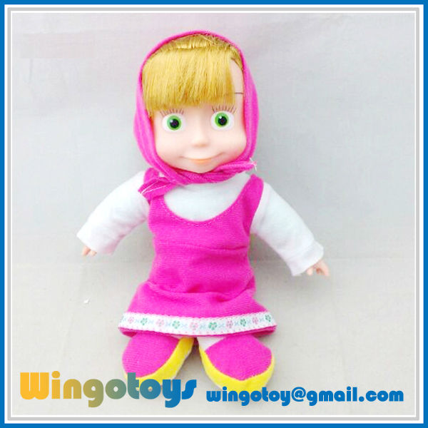 plush toy talking masha recorder