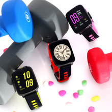 Waterproof Big Touch Screen Smart Heart Rate Monitor Bluetooth Android Hand Watch Mobile Phone