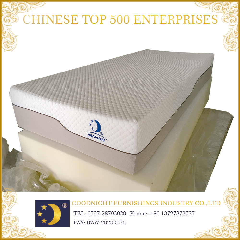 Top grade WA-MF018 knitted fabric rebond foam mattress