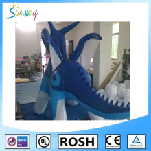 Sunway PVC Inflatable Dragon, Inflatable Red Dragon for Promotion