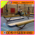 Long inflatable air tumble track yoga mat for training