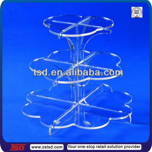 Hot sale party acrylic cake pops display stand for cupcake/ donut/ dessert