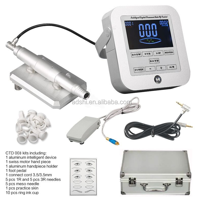 Professional digital permanent makeup machine, Square Digital Device Kit