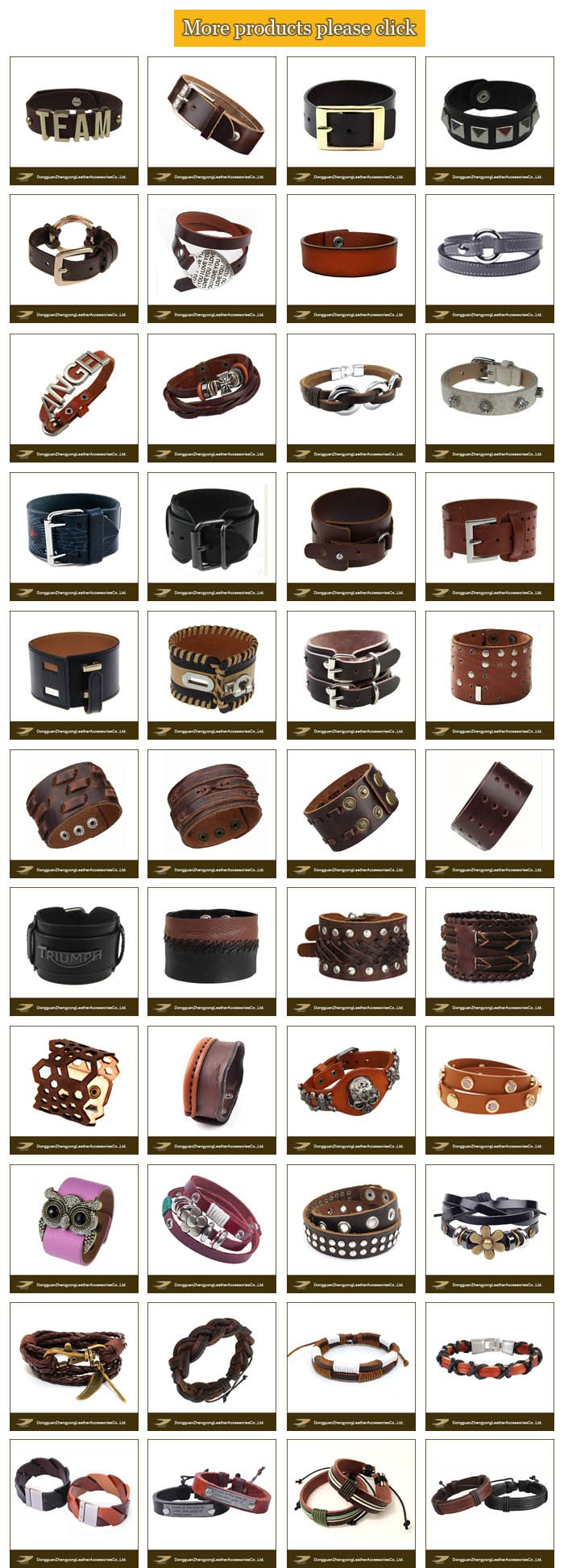 China JANYO professional custom popular simple plain leather mens hand bracelets