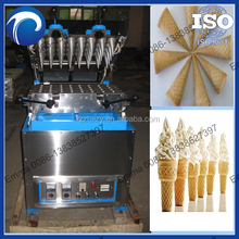 commercial Rolled sugar cone baking machine ,semi-automatic ice cream cone making machine0086-13838527397