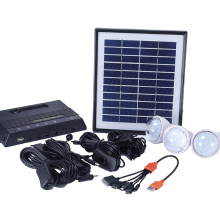 Made in china solar panel with led light for homes