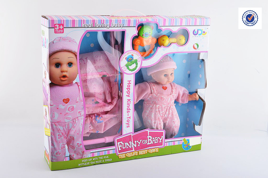 NEW PRODUCT B/O DOLL W/STROLLER,KID TOY FOR SALE