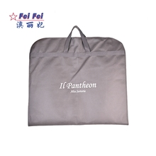 Cheap Lady Moth Proof Dress Storage Travel Non Woven Dust Suit Cover