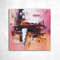 Custom Decorative Oversize Abstract Canvas Cheap Oil Paintings