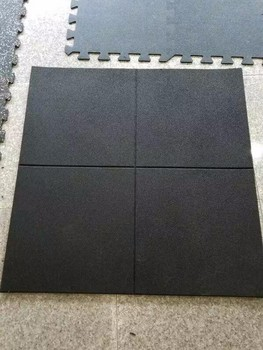 Gym Rubber Flooring SBR Rubber Tile Rubber Mat