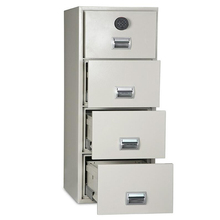 1-2 hours fire resistant / fireproof drawer filing cabinet